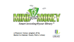 A financial literacy program of the