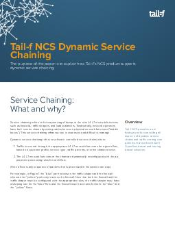 Service chaining refers to the sequencing of bumpinthe