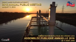 GREAT LAKES PILOTAGE AUTHORITY