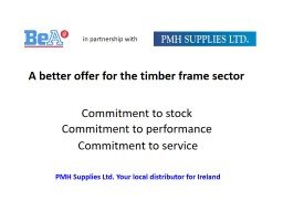 A better offer for the timber frame sector