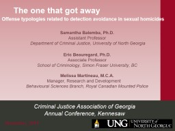 Criminal Justice Association of Georgia