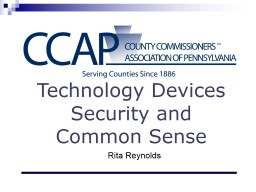 Technology Devices Security and Common