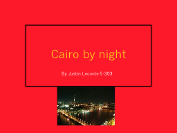 Cairo by night  By Justin Leconte-5-303