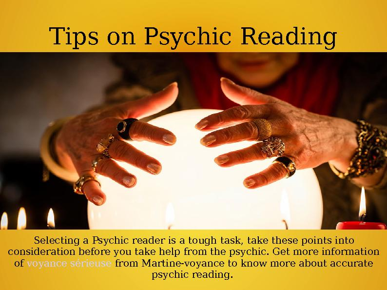Tips on Psychic Reading