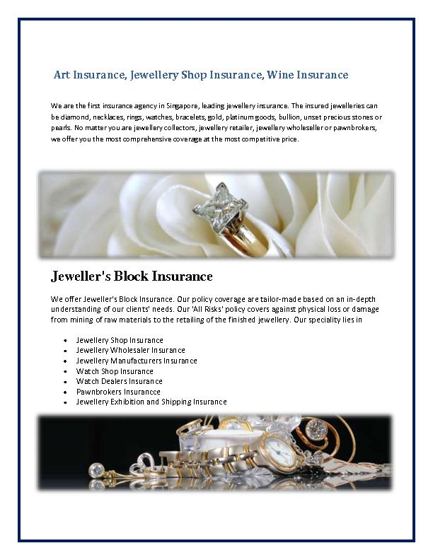 Watch Shop Insurance