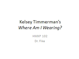 Kelsey Timmerman's  Where Am I Wearing?