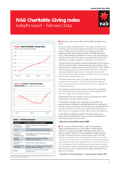 NAB Charitable Giving Index Indepth report  February PowerPoint PPT Presentation