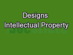 Designs Intellectual Property