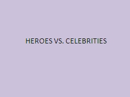 HEROES VS. CELEBRITIES HERO