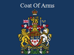 Coat Of Arms Coat of Arms PowerPoint PPT Presentation