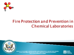 Fire Protection and Prevention in