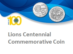 Lions Centennial Commemorative Coin