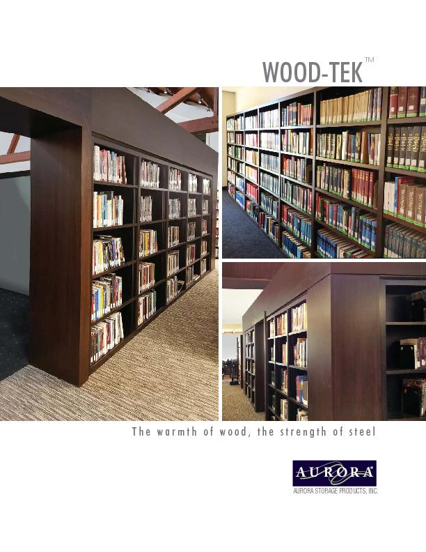 Wood-Tek Shelving by Aurora Storage