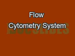 Flow Cytometry System
