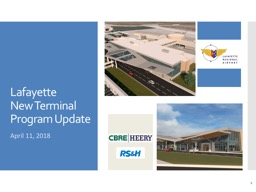 Lafayette  New Terminal Program Update