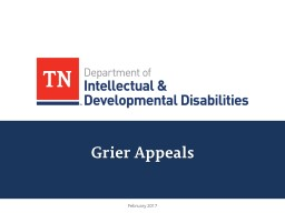 Grier Appeals February 2017