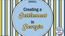 Settlement Georgia � 2014 Brain Wrinkles