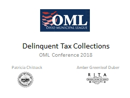 Delinquent Tax Collections