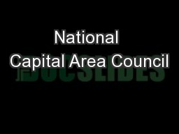 National Capital Area Council