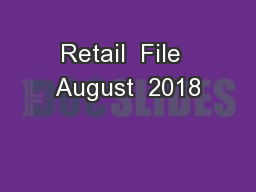 Retail  File  August  2018
