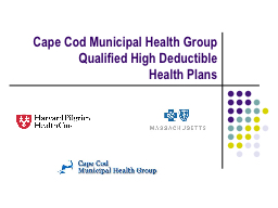 Cape Cod Municipal Health Group