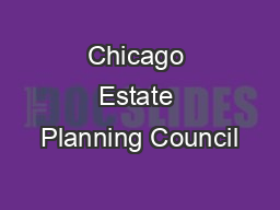 Chicago Estate Planning Council
