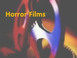 Horror  Films Poltergeist(1982) PowerPoint PPT Presentation
