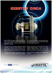 YOUR NDT PARTNER NDT EXERTUS CIRCA projector range is