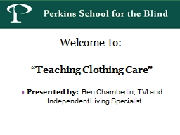 "Welcome to:  "" Teaching Clothing"