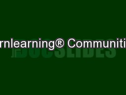 Bornlearning® Communities: