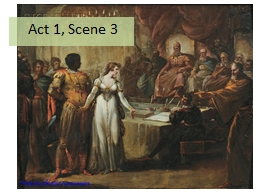 Act 1,  Scene 3 AO2: Structure