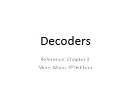 Decoders Reference: Chapter 3