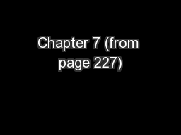 Chapter 7 (from page 227)