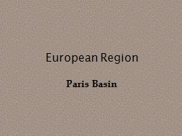 European Region Paris Basin
