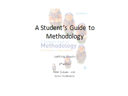 A  Student's  Guide to