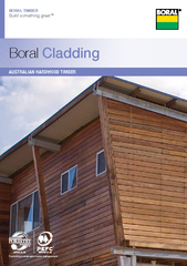 BORAL TIMBE Build something great Boral Cladding Promo