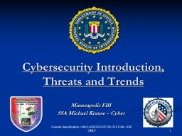 Minneapolis FBI SSA Michael Krause � Cyber