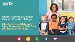 Keeping Children Safe in Early Care and Education Settings