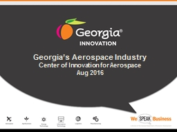 Georgia�s  Aerospace  Industry