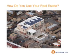 How Do You Use Your Real Estate?