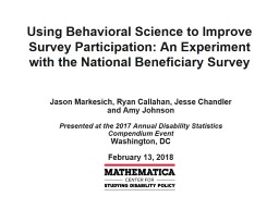 Using Behavioral Science to Improve Survey