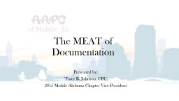 The MEAT of Documentation