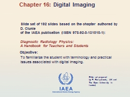 Slide set of 192 slides based on the chapter authored by