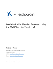 Predixion Insight Classifies Outcomes Using the RPART