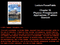 Chapter 16 Electric  Charge and Electric Field