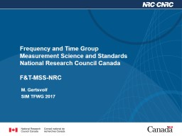 Frequency and Time Group