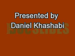 Presented by Daniel Khashabi