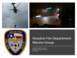 Houston Fire Department Marine Group