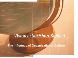 Vision is Not Short  Sighted