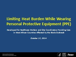 Limiting  Heat  Burden While PowerPoint PPT Presentation